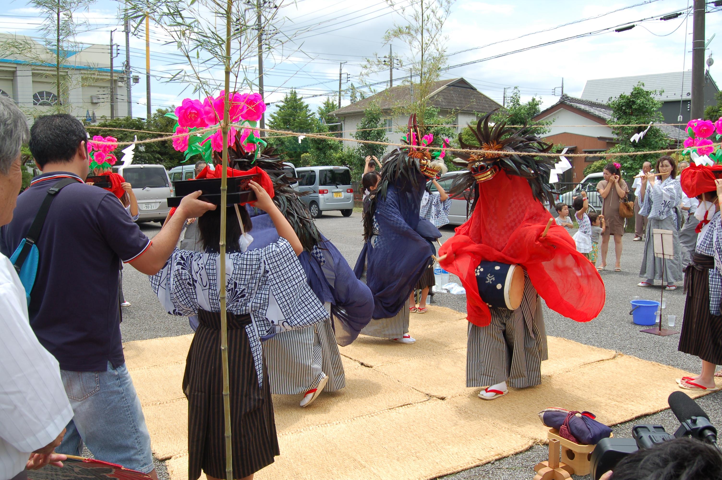 ささら獅子舞保存会 | 松伏町文化協会へようこそ